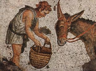 Mozaiek klassiek uit de oudheid