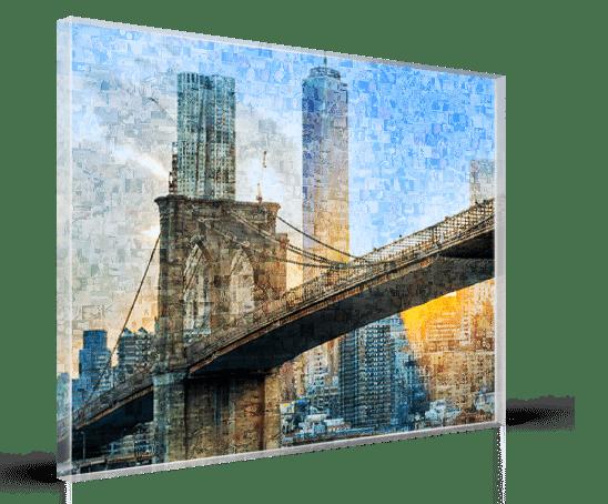 fotomozaiek acrylglas
