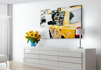 fotomozaiek op plexiglas woonruimte small