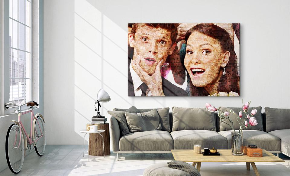 meerdere fotos in een foto woonruimte